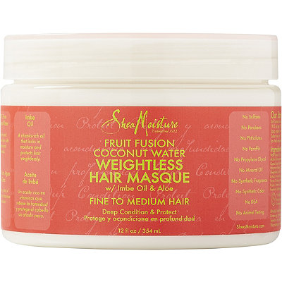 SheaMoistureFruit Fusion Coconut Water Weightless Hair Masque