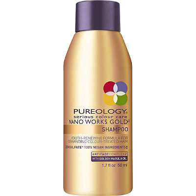 Travel Size Nano Works Gold Shampoo