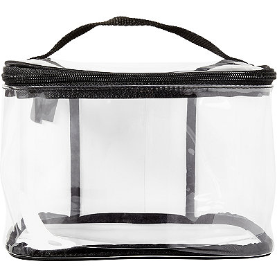 Tartan + Twine Basics Clear Train Case