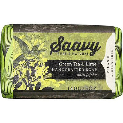 Saavy Tea And Lime Bar Soap