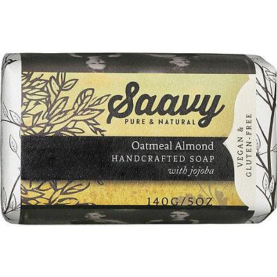 SaavyOatmeal Almond Bar Soap