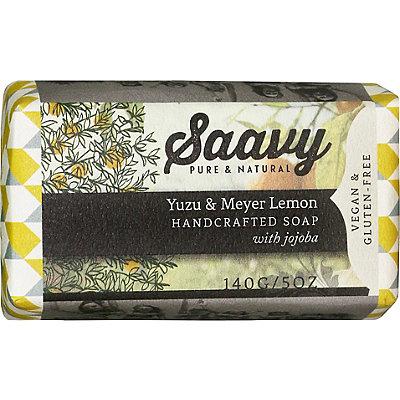 SaavyYuzu %26 Meyer Lemon Bar Soap