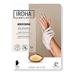 IROHA NOURISHING ARGAN HAND TREATMENT Mask Gloves