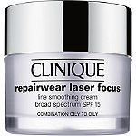 Repairwear Laser Focus Line Smoothing Cream Broad Spectrum SPF 15 Combination Oil to Oily
