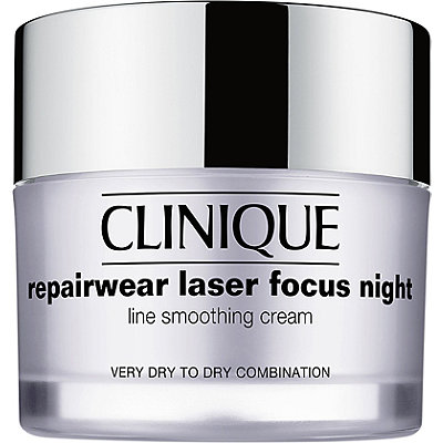 Repairwear Laser Focus Night Line Smoothing Cream Very Dry to Dry Combination