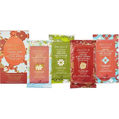 PacificaTravel Size Hand And Body Lotion Wipes