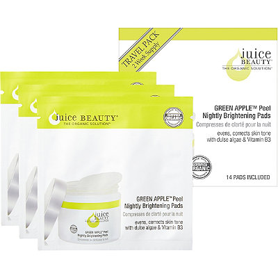 Juice Beauty Travel Size GREEN APPLE Peel Nightly Brightening Pads