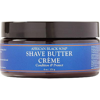 Online Only African Black Soap Shave Butter Crème