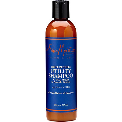 SheaMoisture Online Only Three Butters Utility Shampoo