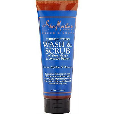 SheaMoisture Online Only Three Butters Wash %26 Scrub