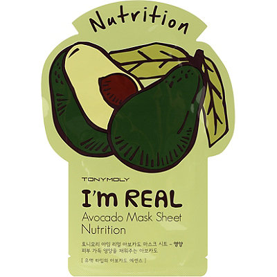 TONYMOLY I%27m Real Avocado Mask Sheet