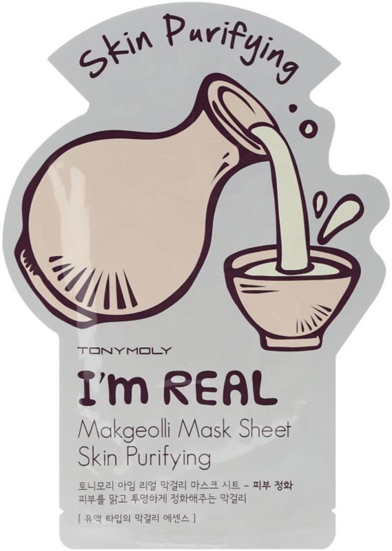 I'm Real Makgeolli Sheet Mask by TONYMOLY #16