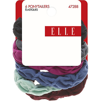 Elle Soft Fabric Ponytailers