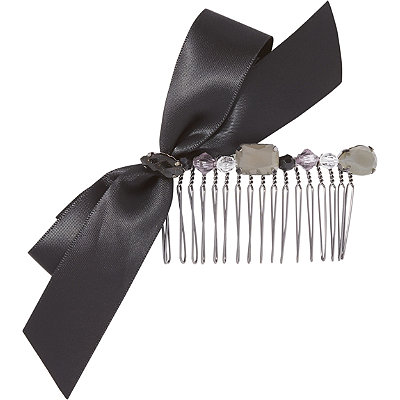 ElleSide Comb with Black Ribbon