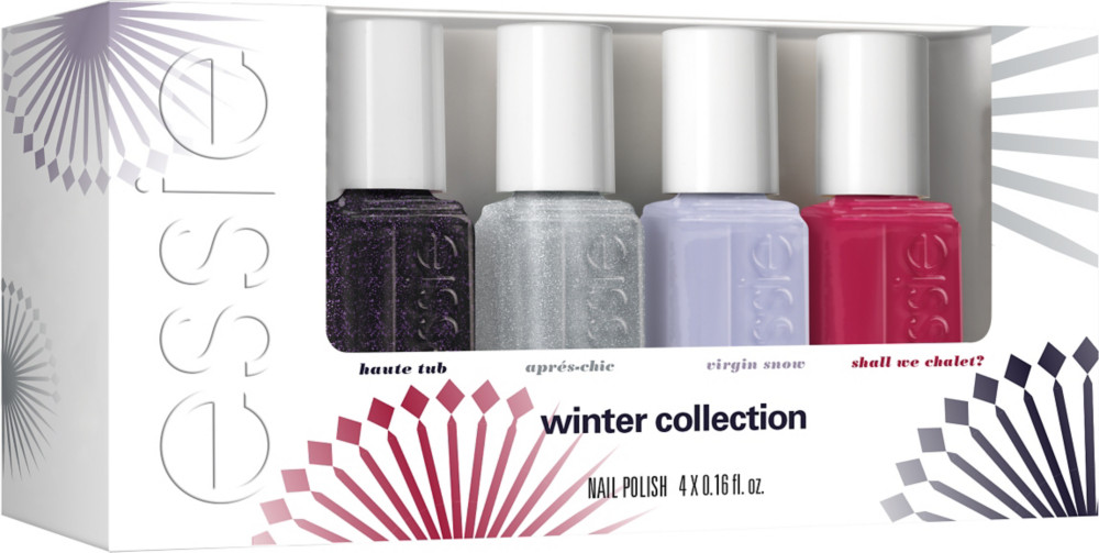 Check out Essie Winter 4 Pc Mini Nail Polish Set - ShopYourWay