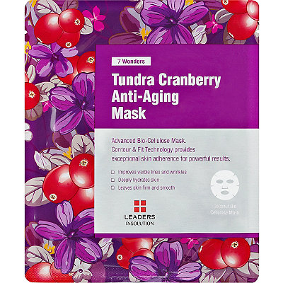 Leaders Online Only 7 Wonders Tundra Cranberry Anti-Aging Mask