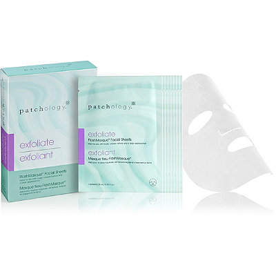 Patchology Online Only Exfoliate FlashMasque Facial Sheets