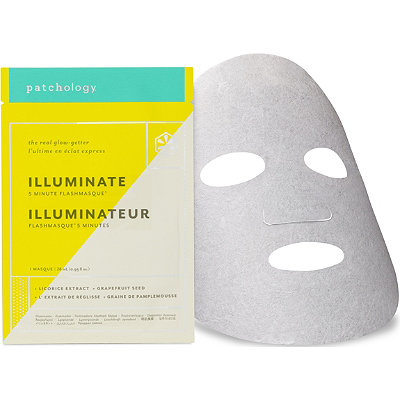 Patchology Online Only Illuminate FlashMasque Facial Sheet