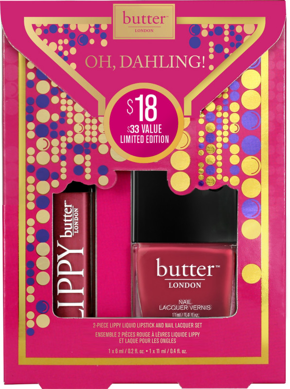 Check out Butter London Oh, Dahling! 2 Pc. LIPPY Liquid Lipstick and Nail Lacquer Set - ShopYourWay