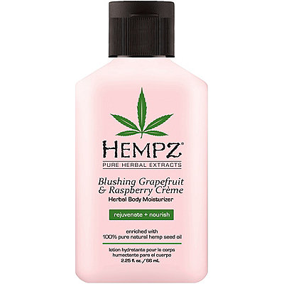 Travel Size Blushing Grapefruit & Raspberry Crème Herbal Body Moisturizer