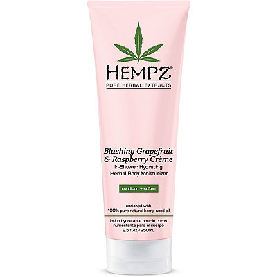 Blushing Grapefruit & Raspberry Crème In-Shower Herbal Body Moisturizer