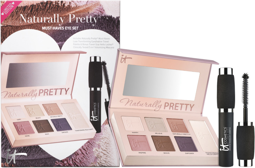 IT COSMETICS  Naturally Pretty Must-Haves Eye Set