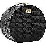 Houndstooth Round Train Case