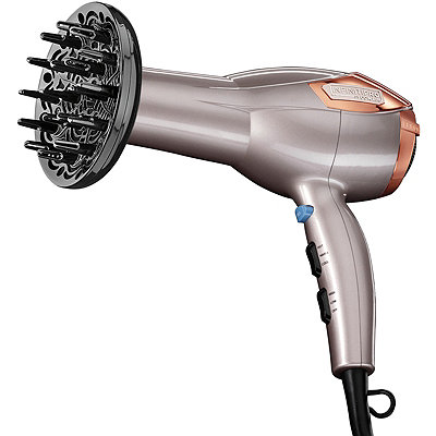 Conair Rose Gold Hair Dryer with Bonus Dryer Bag