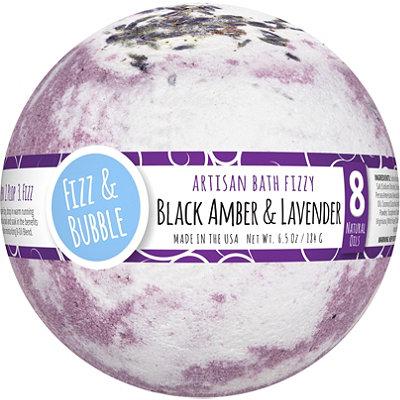 Black Amber & Lavender Bath Fizzy