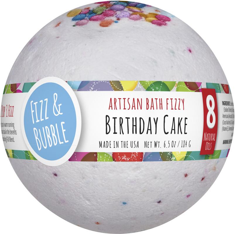 Fizz Bubble Birthday Cake Large Bath Fizzy Ulta Beauty