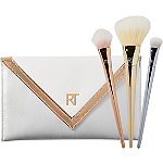 Real TechniquesBold Metals Essentials Set with Exclusive Metallic Clutch