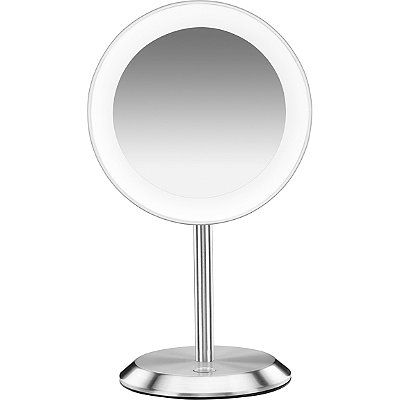 conair makeup mirror. conair satin chrome led vanity magnifying mirror makeup a
