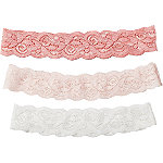 RivieraLurex Lace Head Wrap Set 3pc