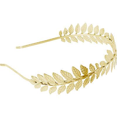 RivieraMetal Leaf Headband