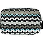 Anna Martina FrancoChevron Medium Rectangular Cosmetic Case