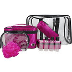 CaboodlesPink Satin 10 pc Bag
