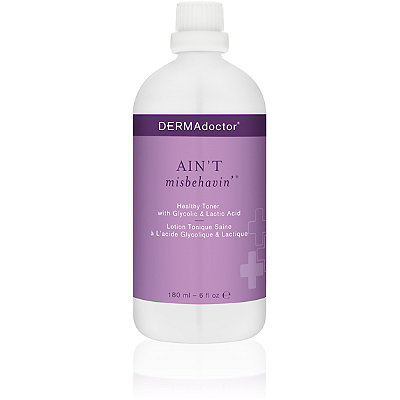 Dermadoctor Ain%27t Misbehavin%27 Healthy Toner with Glycolic %26 Lactic Acid