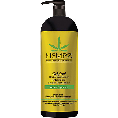 Hempz Original Herbal Conditioner for Damaged %26 Color Treated Hair