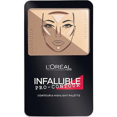 L'OréalInfallible Pro Contour Palette