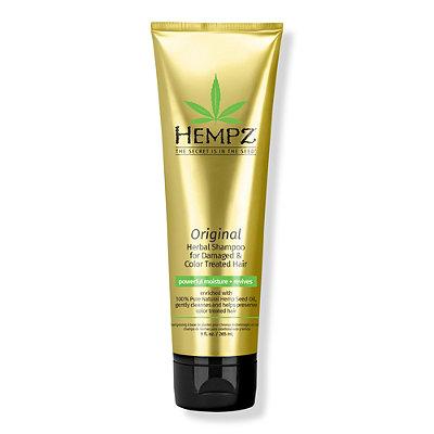 HempzOriginal Herbal Shampoo for Damaged %26 Color Treated Hair