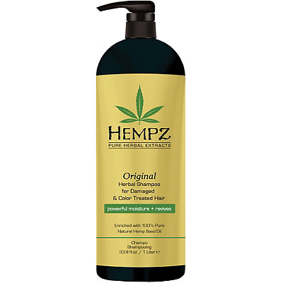 Hempz Original Herbal Shampoo for Damaged %26 Color Treated Hair