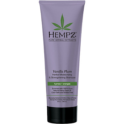 Hempz Vanilla Plum Herbal Moisturizing %26 Strengthening Shampoo