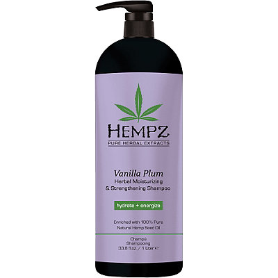 Vanilla Plum Herbal Moisturizing & Strengthening Shampoo