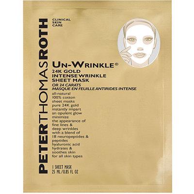 Peter Thomas RothUn-Wrinkle 24k Gold Intense Wrinkle Sheet Mask