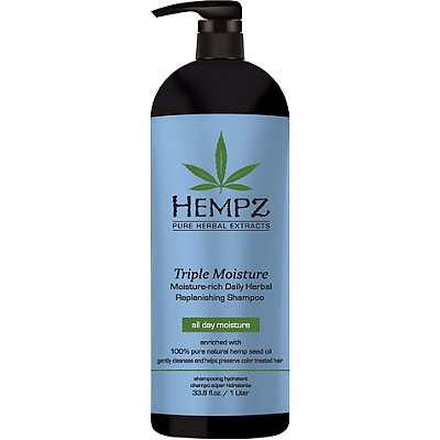 Triple Moisture Rich Daily Herbal Replenishing Shampoo