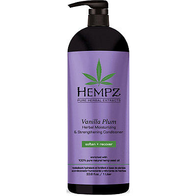 Hempz Vanilla Plum Herbal Moisturizing %26 Strengthening Conditioner