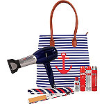 Online Only Sail Away Dryer and Flat Iron Set with Free Tote