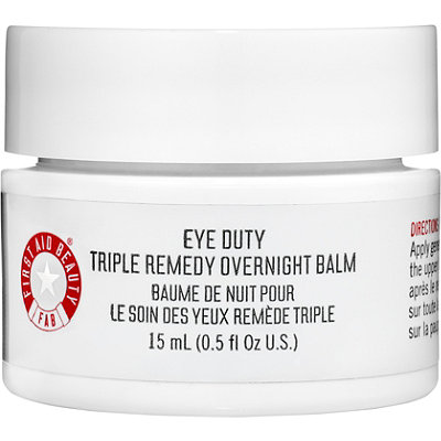 First Aid Beauty Eye Duty Triple Remedy Overnight Balm