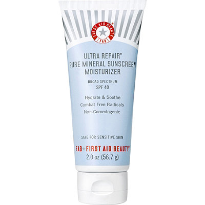 First Aid BeautyUltra Repair Pure Mineral Sunscreen Moisturizer SPF 40