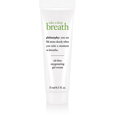 Philosophy Travel Size Take A Deep Breath Oil-Free Oxygen Infused Gel Cream